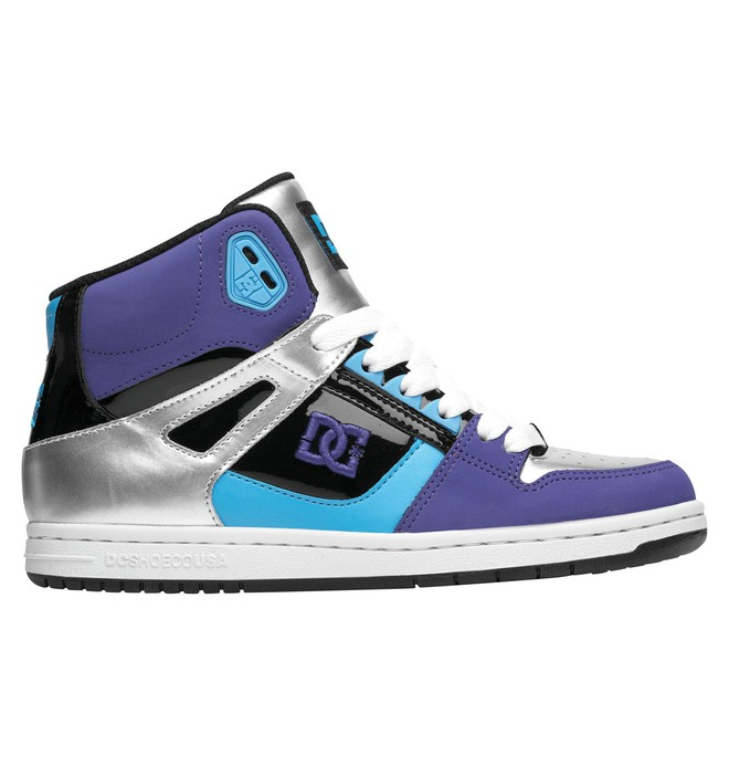 0 Women's Rebound High Shoes  302164 DC Shoes