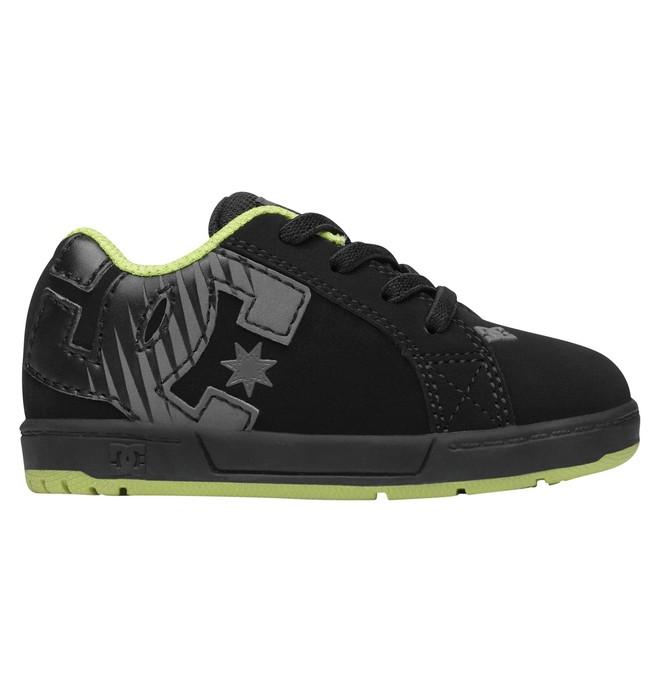 0 Toddler Court Graffik Elastic Shoes  302524 DC Shoes