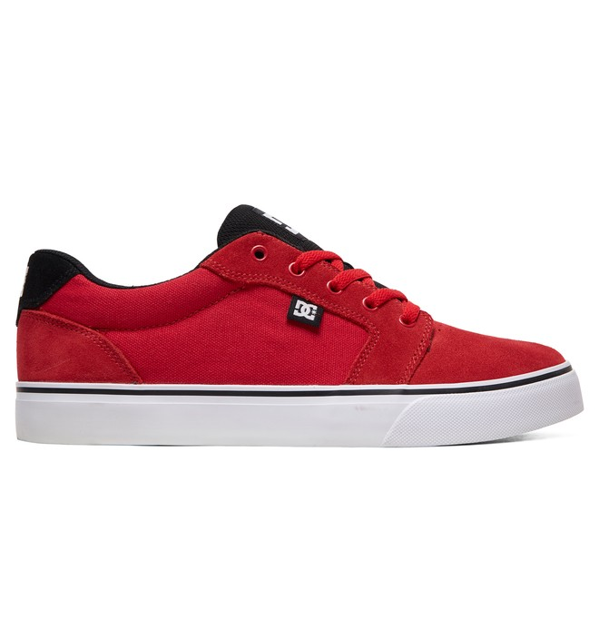 0 Anvil Shoes Red 303190 DC Shoes