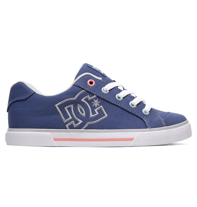 0 Women's Chelsea TX Shoes Blue 303226 DC Shoes