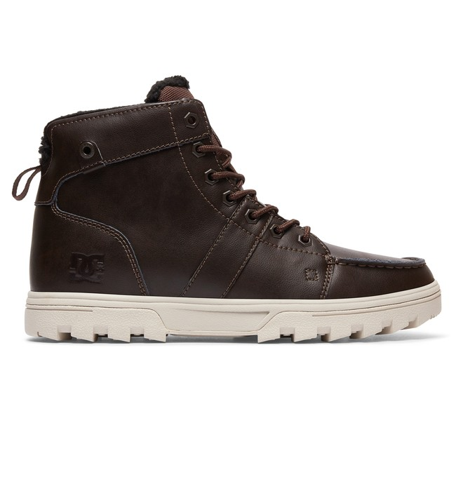 0 Woodland - Lace-Up Boots for Men Black 303241 DC Shoes