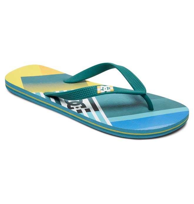 0 Spray Graffik - Flip-Flops Blue 303276 DC Shoes