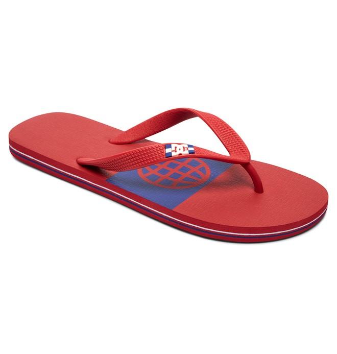 0 Spray Graffik - Tongs pour Homme Noir 303276 DC Shoes