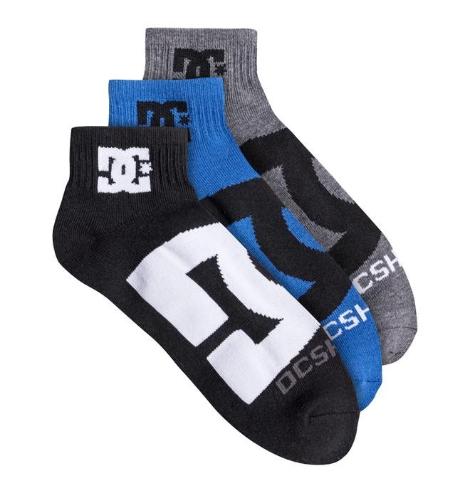DC Logo Quarter Socks 30621F