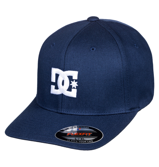 0 Cap Star 2 Flexfit Hat Blue 55300096 DC Shoes