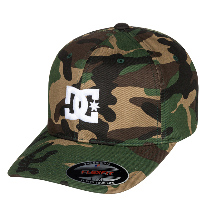 0 Cap Star 2 Flexfit Hat Green 55300096 DC Shoes