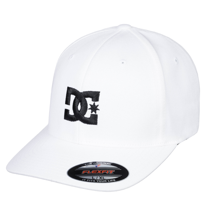 0 Gorra Flexifit Cap Star 2 Blanco 55300096 DC Shoes