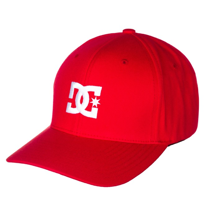 0 Cap Star 2 Flexfit Hat Red 55300096 DC Shoes