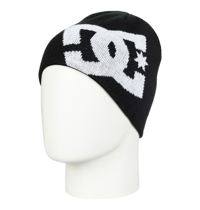 0 Boy's 8-16 Big Star Beanie Black 73310007 DC Shoes