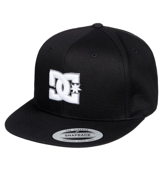 0 Snappy - Snapback Hat Negro ADBHA00008 DC Shoes