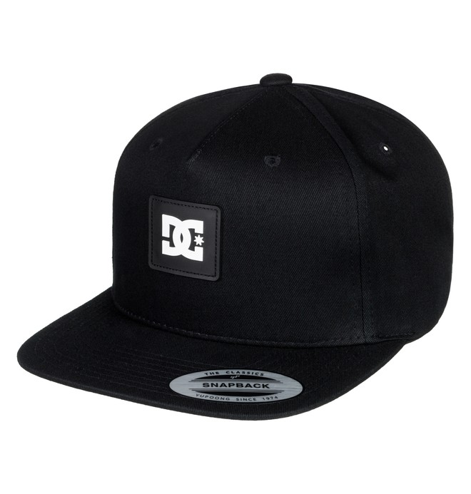 0 Snapdoodle - Gorra ajustable para Chicos 8-16 Negro ADBHA03070 DC Shoes