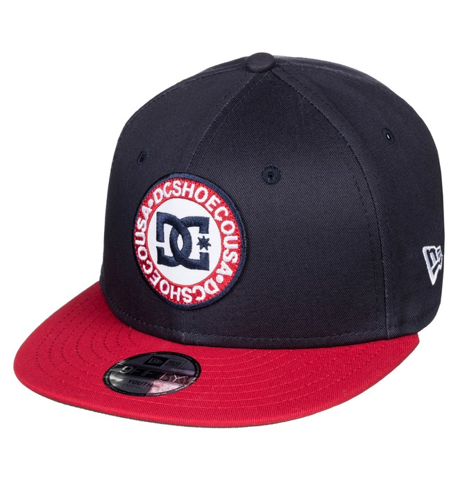 0 Boy's 8-16 Speedeater Snapback Hat Blue ADBHA03073 DC Shoes