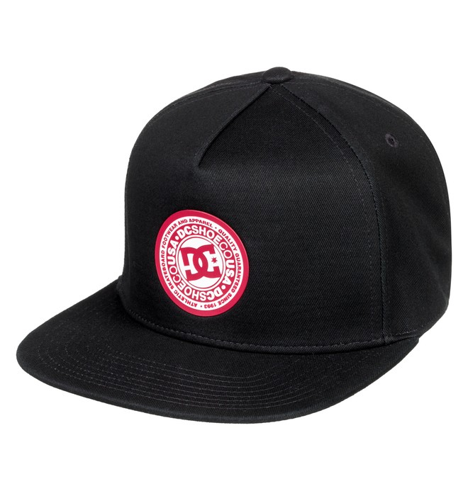 0 Boy's 8-16 Reynotts Snapback Hat Black ADBHA03093 DC Shoes