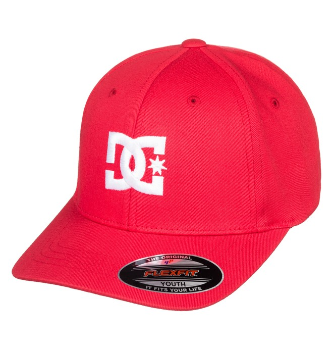 0 Cap Star Flexfit® Hat Red ADBHA03095 DC Shoes