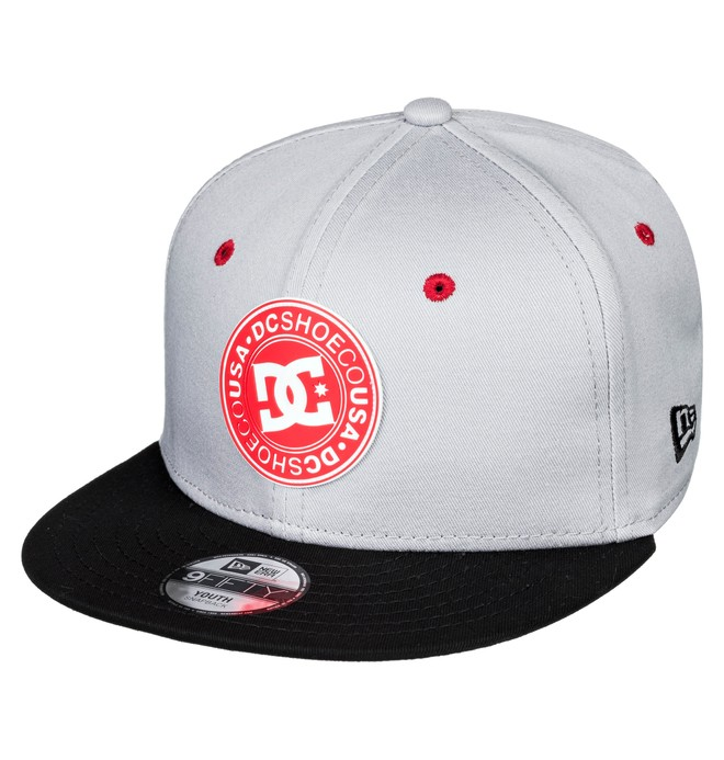 0 Speed Demon Snapback Hat Grey ADBHA03106 DC Shoes