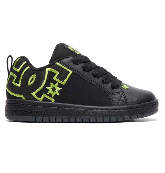0 Kid's Court Graffik SE - Shoes Blue ADBS100203 DC Shoes