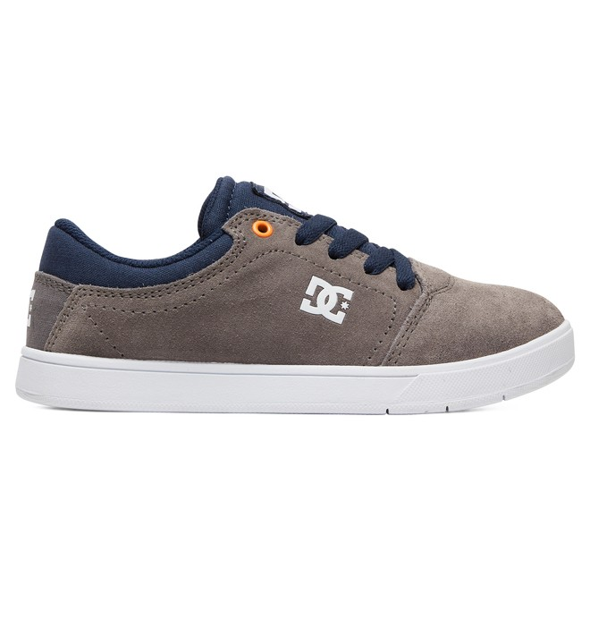 0 Kid's Crisis Shoes Grey ADBS100209 DC Shoes