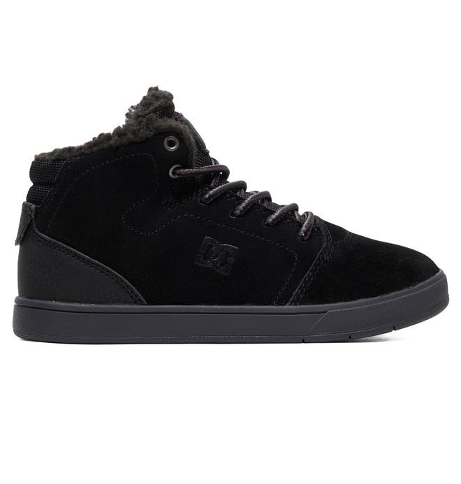 0 Crisis WNT - Chaussures montantes pour Garçon Noir ADBS100215 DC Shoes