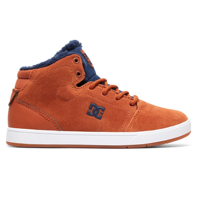 0 Crisis WNT - Winterized Mid-Top Shoes for Boys Orange ADBS100215 DC Shoes