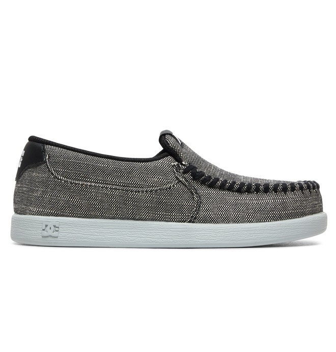 0 Kid's Villain TX SE - Slip-On Shoes Grey ADBS100224 DC Shoes