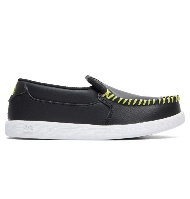 0 Kid's Villain Shoes Black ADBS100229 DC Shoes