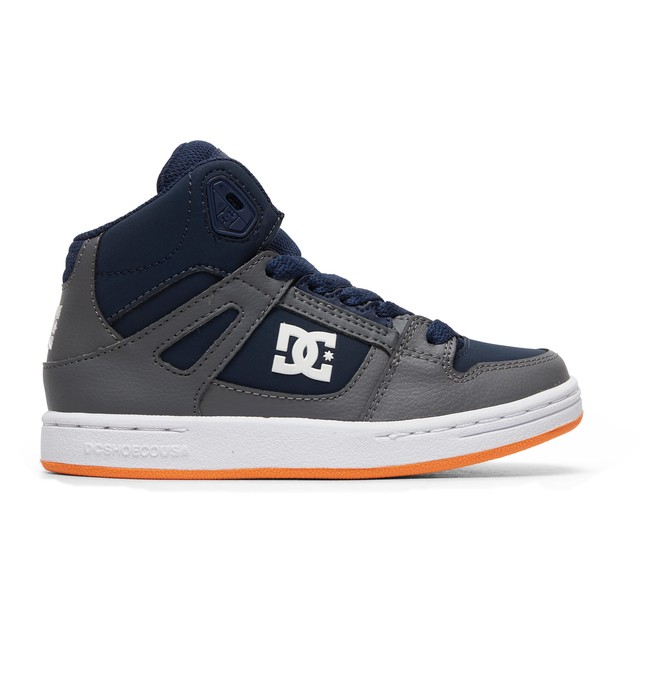 0 Kid's Pure - High-Top Shoes Grey ADBS100242 DC Shoes