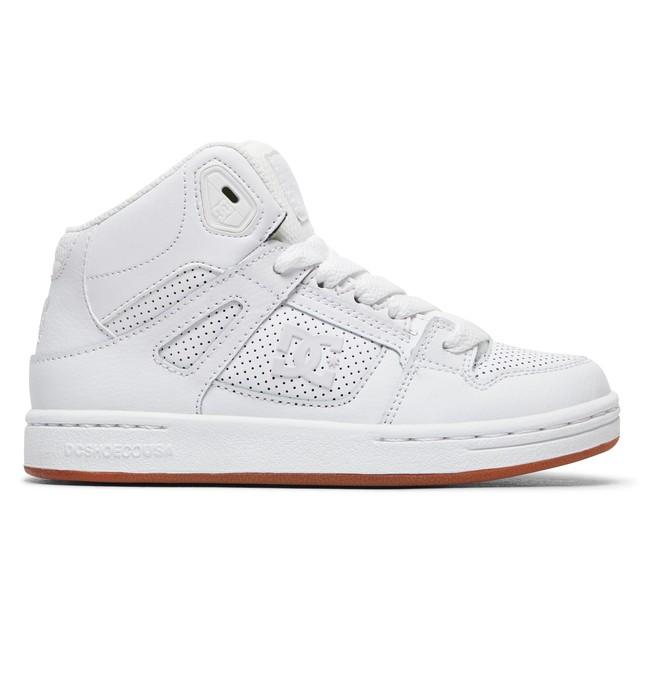 0 Pure High - Chaussures montantes pour Garçon Blanc ADBS100242 DC Shoes