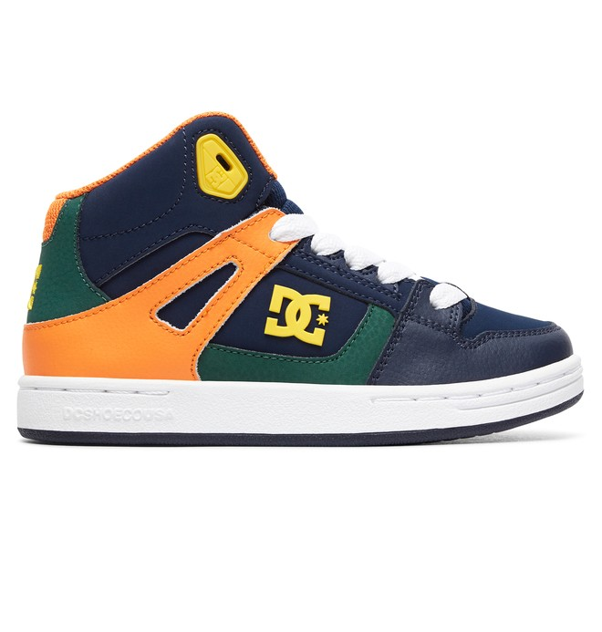 0 Pure High - Zapatillas de caña alta para Chicos Gris ADBS100242 DC Shoes