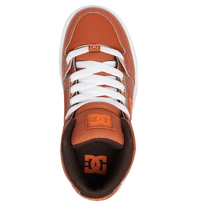 Pure Hi - Leather High-Top Shoes for Kids ADBS100242