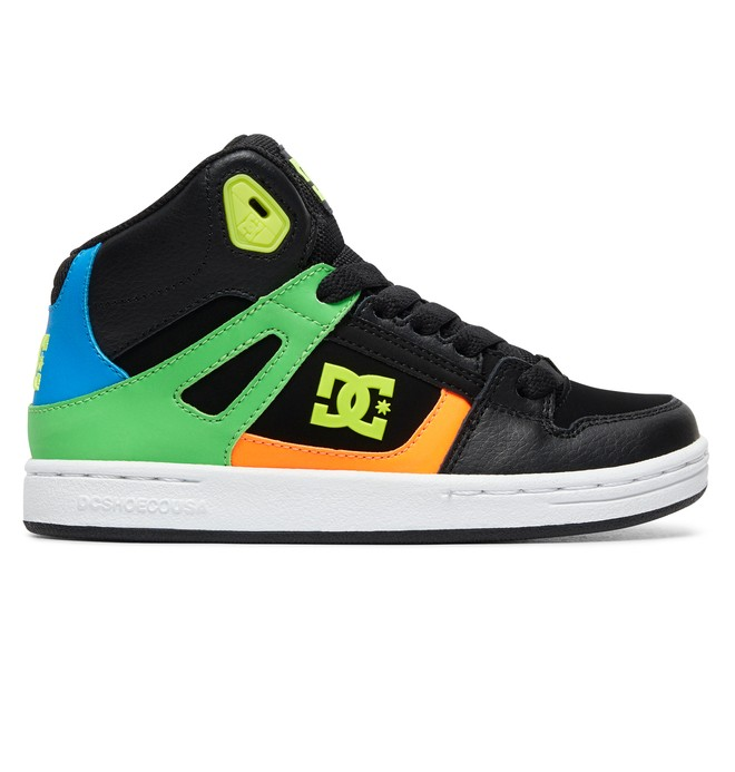 0 Kid's Pure High SE - High-Top Shoes Black ADBS100244 DC Shoes