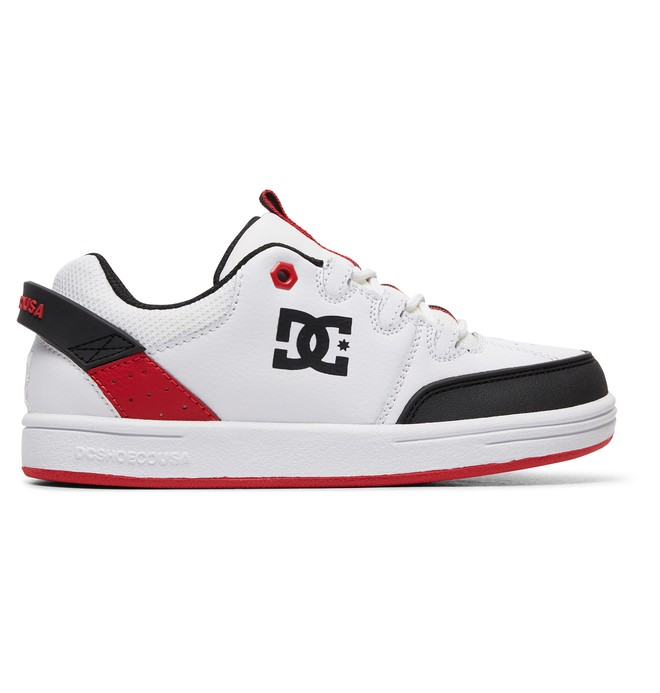 0 Boy's 8-16 Syntax Shoes White ADBS100257 DC Shoes