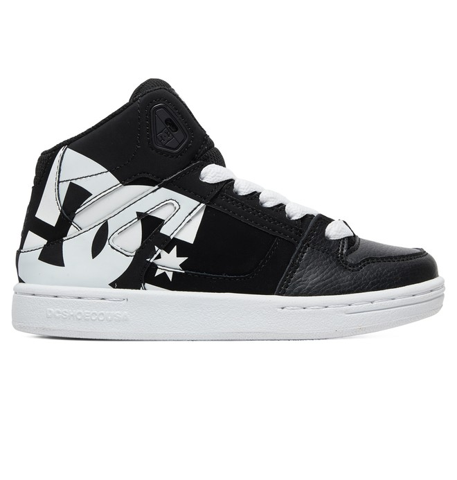 0 Niños  8-16 Zapatos Parte Superior Alta HT SP Pure Negro ADBS100258 DC Shoes