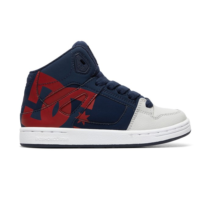0 Boy's 8-16 Pure HT SP High-Top Shoes Blue ADBS100258 DC Shoes