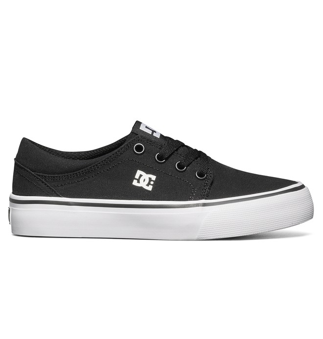 0 Kid's Trase TX Shoes Black ADBS300083 DC Shoes