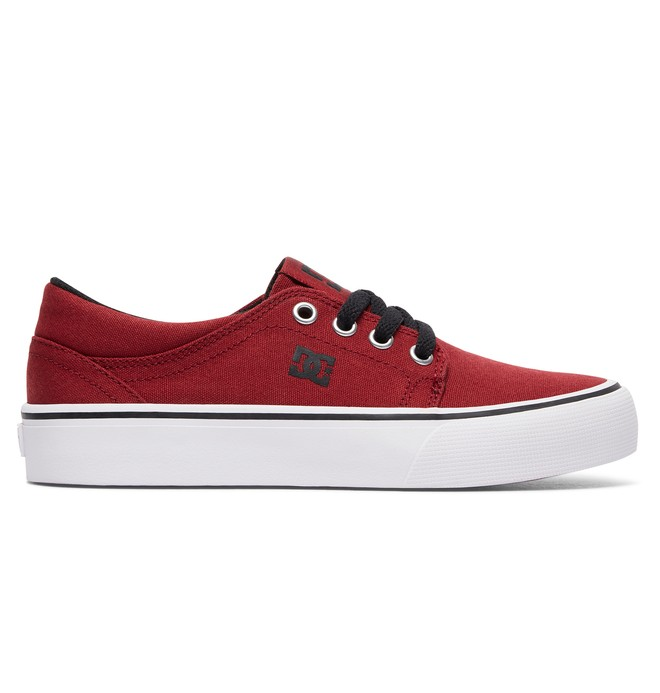 0 Trase TX - Shoes for Boys Red ADBS300083 DC Shoes