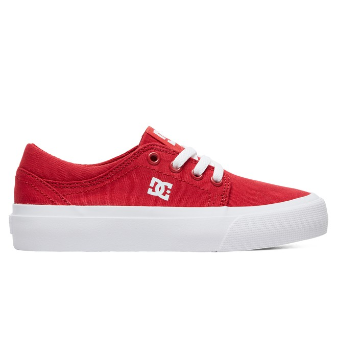 0 Kid's Trase TX Shoes Red ADBS300083 DC Shoes