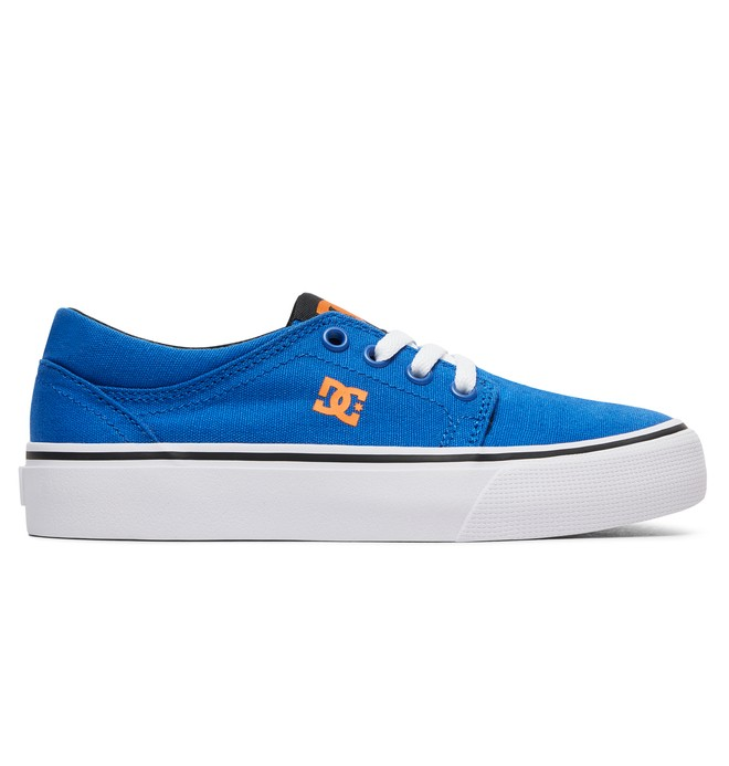 0 Kid's Trase TX Shoes Blue ADBS300083 DC Shoes