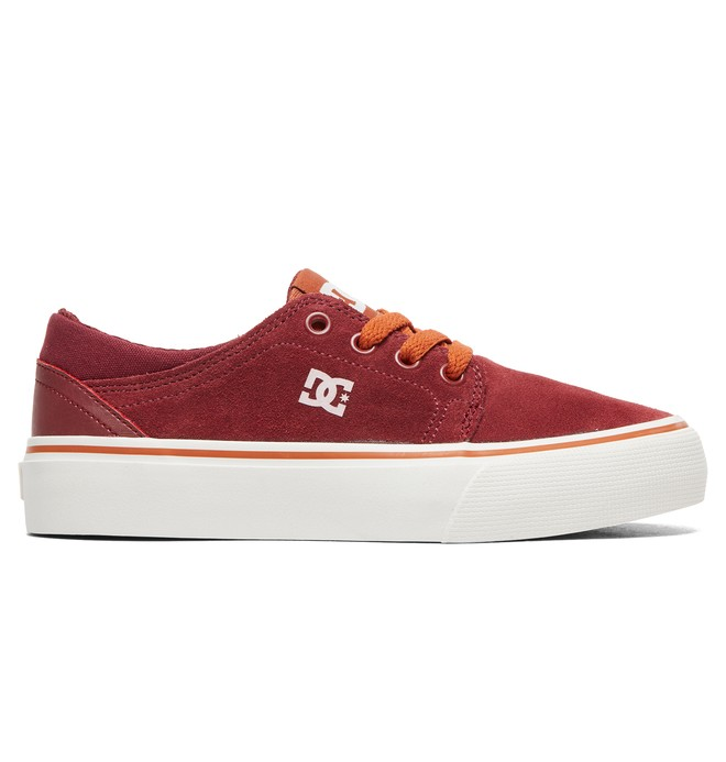 0 Boy's 8-16 Trase Shoes Red ADBS300138 DC Shoes