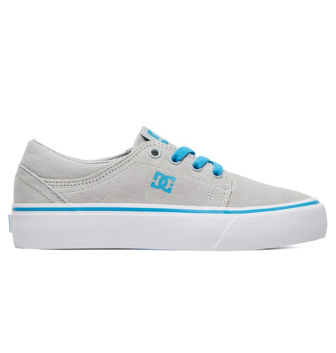 0 Kid's Trase Shoes Grey ADBS300138 DC Shoes