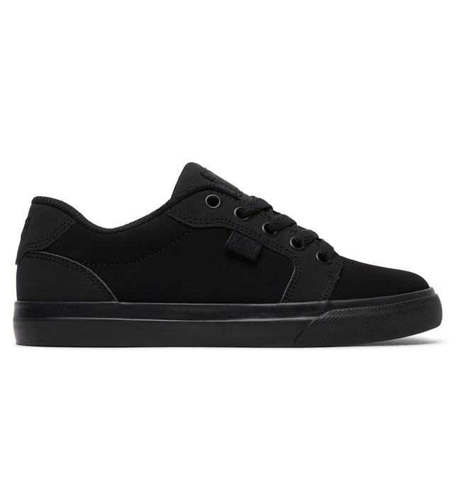 0 Niños  8-16 Zapatos Anvil Negro ADBS300245 DC Shoes