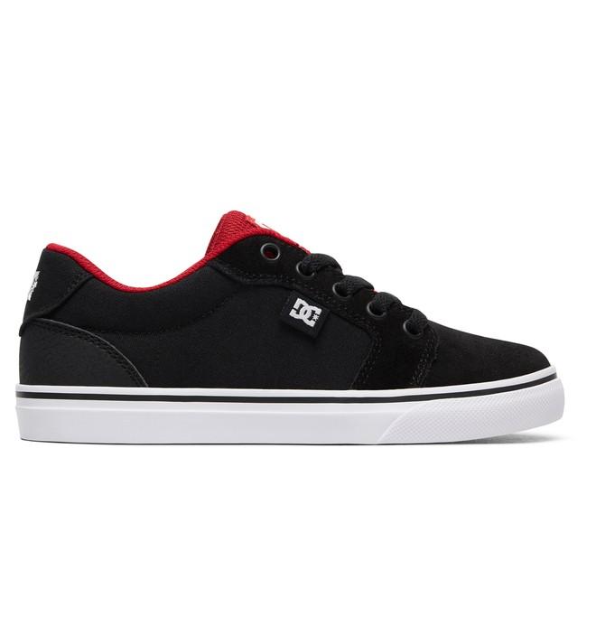 0 Boy's 8-16 Anvil Shoes Black ADBS300245 DC Shoes