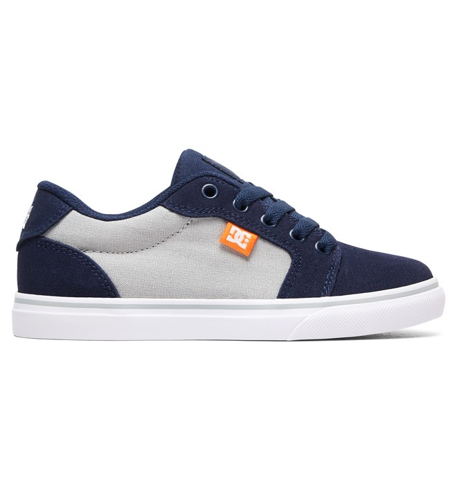 0 Kid's Anvil Shoes Blue ADBS300245 DC Shoes