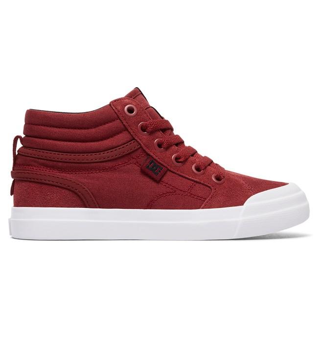 0 Evan Hi - Chaussures montantes pour Garçon Rouge ADBS300255 DC Shoes
