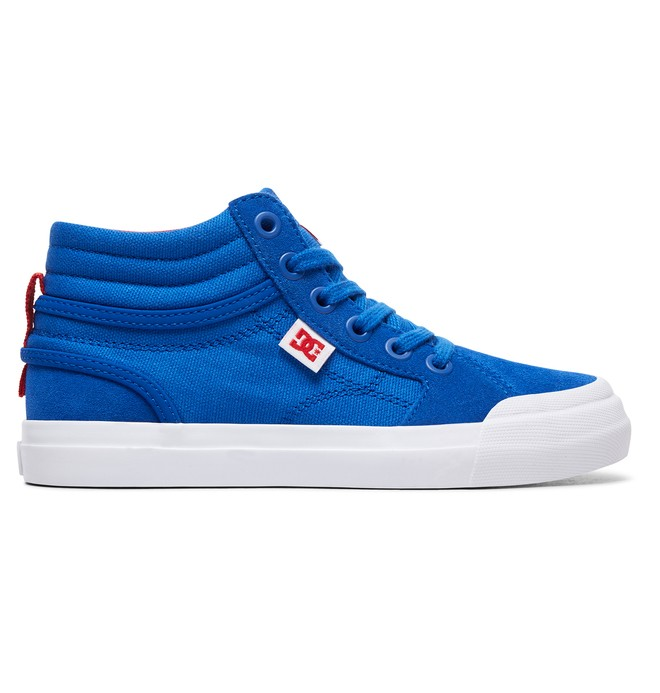 0 Kid's Evan Hi - High-Top Shoes Blue ADBS300255 DC Shoes