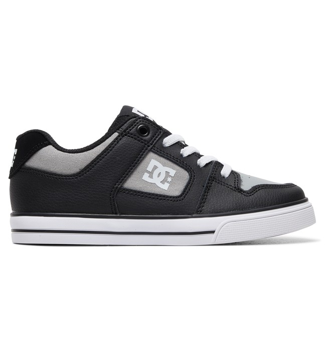 0 Kid's Pure Elastic Shoes Black ADBS300256 DC Shoes
