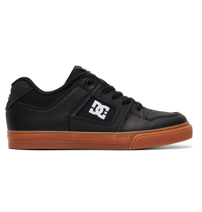 0 Boy's 8-16 Pure Elastic Shoes Black ADBS300256 DC Shoes