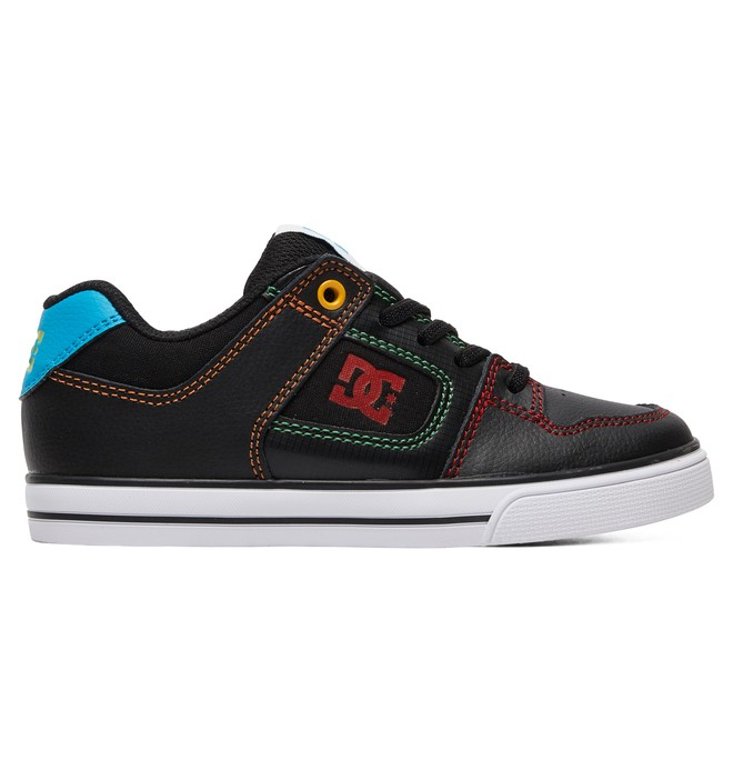 0 Kid's Pure Elastic Shoes Multicolor ADBS300256 DC Shoes
