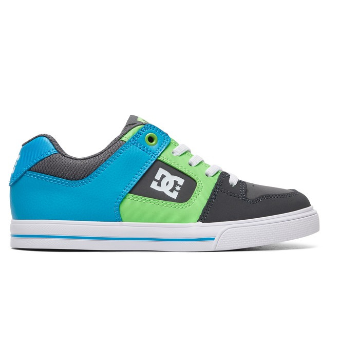 0 Kid's Pure Elastic Shoes Grey ADBS300256 DC Shoes