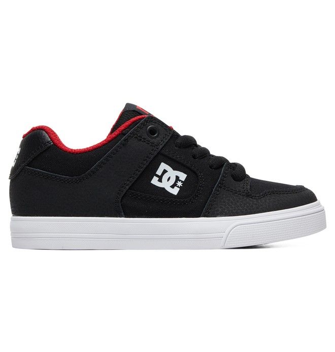 0 Kid's Pure Shoes Black ADBS300267 DC Shoes