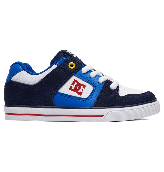 0 Kid's Pure Shoes Blue ADBS300267 DC Shoes